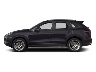 Purpurite Metallic 2017 Porsche Cayenne Pictures Cayenne Utility 4D Platinum AWD V6 photos side view