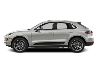 White 2017 Porsche Macan Pictures Macan Utility 4D Performance AWD V6 Turbo photos side view