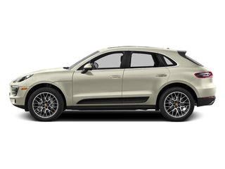 Carrara White Metallic 2017 Porsche Macan Pictures Macan Utility 4D Performance AWD V6 Turbo photos side view
