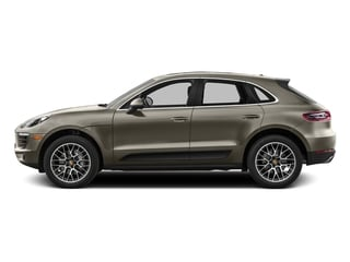 Palladium Metallic 2017 Porsche Macan Pictures Macan Utility 4D Performance AWD V6 Turbo photos side view