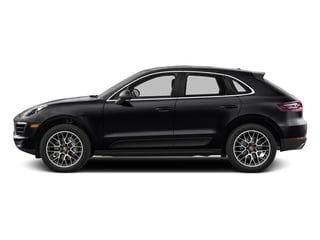 Black 2017 Porsche Macan Pictures Macan Utility 4D S AWD V6 Turbo photos side view