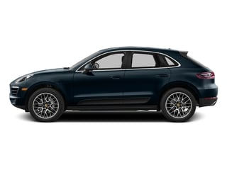 Night Blue Metallic 2017 Porsche Macan Pictures Macan Utility 4D Performance AWD V6 Turbo photos side view