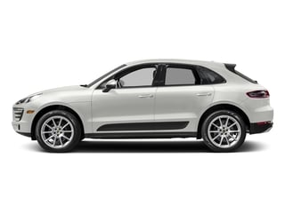 White 2017 Porsche Macan Pictures Macan Utility 4D AWD I4 Turbo photos side view