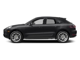 Black 2017 Porsche Macan Pictures Macan Utility 4D AWD I4 Turbo photos side view