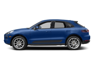 Sapphire Blue Metallic 2017 Porsche Macan Pictures Macan Utility 4D AWD I4 Turbo photos side view