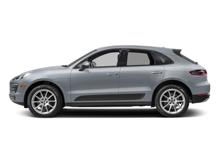 Rhodium Silver Metallic 2017 Porsche Macan Pictures Macan Utility 4D AWD I4 Turbo photos side view