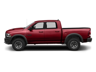 Flame Red Clearcoat 2017 Ram Truck 1500 Pictures 1500 Rebel 4x2 Crew Cab 5'7 Box photos side view