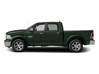 Black Forest Green Pearlcoat 2017 Ram Truck 1500 Pictures 1500 Laramie 4x4 Crew Cab 6'4 Box photos side view