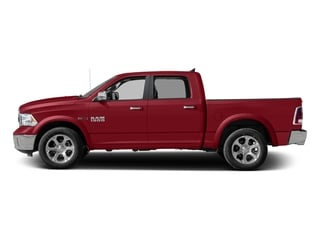 Flame Red Clearcoat 2017 Ram Truck 1500 Pictures 1500 Laramie 4x4 Crew Cab 6'4 Box photos side view