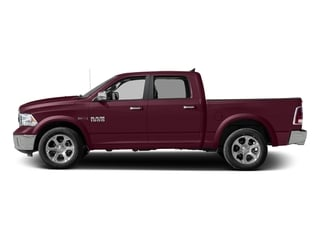 Delmonico Red Pearlcoat 2017 Ram Truck 1500 Pictures 1500 Laramie 4x4 Crew Cab 6'4 Box photos side view