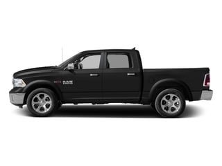 Brilliant Black Crystal Pearlcoat 2017 Ram Truck 1500 Pictures 1500 Laramie 4x4 Crew Cab 6'4 Box photos side view
