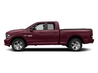 Delmonico Red Pearlcoat 2017 Ram Truck 1500 Pictures 1500 Night 4x4 Quad Cab 6'4 Box photos side view