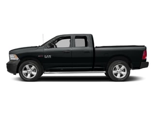 Maximum Steel Metallic Clearcoat 2017 Ram Truck 1500 Pictures 1500 HFE 4x2 Quad Cab 6'4 Box photos side view