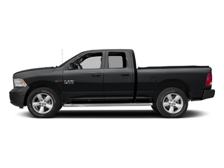 Granite Crystal Metallic Clearcoat 2017 Ram Truck 1500 Pictures 1500 HFE 4x2 Quad Cab 6'4 Box photos side view