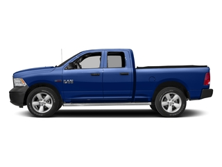 Blue Streak Pearlcoat 2017 Ram Truck 1500 Pictures 1500 HFE 4x2 Quad Cab 6'4 Box photos side view