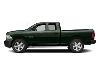 Black Forest Green Pearlcoat 2017 Ram Truck 1500 Pictures 1500 Quad Cab HFE 2WD V6 T-Diesel photos side view
