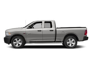 Bright Silver Metallic Clearcoat 2017 Ram Truck 1500 Pictures 1500 HFE 4x2 Quad Cab 6'4 Box photos side view