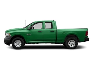 Bright Green 2017 Ram Truck 1500 Pictures 1500 Express 4x2 Quad Cab 6'4 Box photos side view