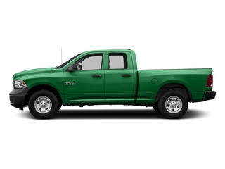 Bright Green 2017 Ram Truck 1500 Pictures 1500 Quad Cab Tradesman 2WD photos side view