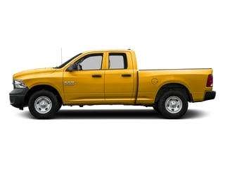 Construction Yellow 2017 Ram Truck 1500 Pictures 1500 Express 4x2 Quad Cab 6'4 Box photos side view