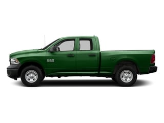 Tree Green 2017 Ram Truck 1500 Pictures 1500 Express 4x2 Quad Cab 6'4 Box photos side view