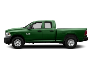 Tree Green 2017 Ram Truck 1500 Pictures 1500 Quad Cab Tradesman 2WD photos side view