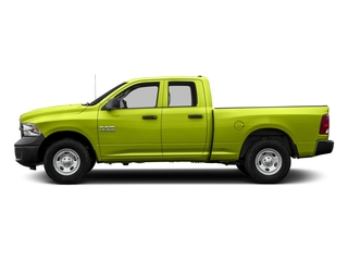 National Safety Yellow 2017 Ram Truck 1500 Pictures 1500 Express 4x2 Quad Cab 6'4 Box photos side view
