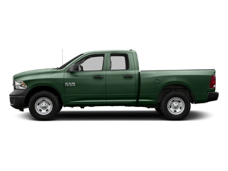 Timberline Green Pearlcoat 2017 Ram Truck 1500 Pictures 1500 Quad Cab Tradesman 2WD photos side view