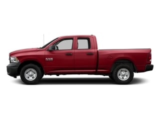 Flame Red Clearcoat 2017 Ram Truck 1500 Pictures 1500 Quad Cab Tradesman 2WD photos side view
