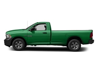 Bright Green 2017 Ram Truck 1500 Pictures 1500 Lone Star 4x2 Regular Cab 6'4 Box photos side view