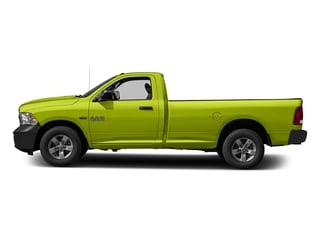 National Safety Yellow 2017 Ram Truck 1500 Pictures 1500 Regular Cab Bighorn/Lone Star 2WD photos side view