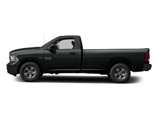Maximum Steel Metallic Clearcoat 2017 Ram Truck 1500 Pictures 1500 Regular Cab Bighorn/Lone Star 2WD photos side view