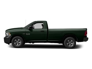 Black Forest Green Pearlcoat 2017 Ram Truck 1500 Pictures 1500 Lone Star 4x2 Regular Cab 6'4 Box photos side view