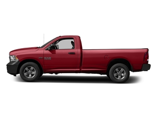 Flame Red Clearcoat 2017 Ram Truck 1500 Pictures 1500 Regular Cab Bighorn/Lone Star 4WD photos side view