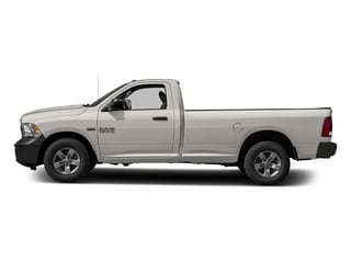 Bright Silver Metallic Clearcoat 2017 Ram Truck 1500 Pictures 1500 Lone Star 4x2 Regular Cab 6'4 Box photos side view