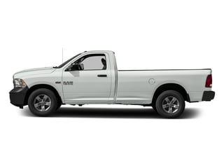 Bright White Clearcoat 2017 Ram Truck 1500 Pictures 1500 Regular Cab Bighorn/Lone Star 4WD photos side view