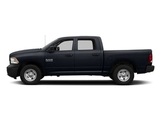 Midnight Blue Pearlcoat 2017 Ram Truck 1500 Pictures 1500 Tradesman 4x4 Crew Cab 5'7 Box photos side view