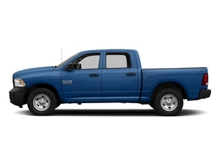 Blue Streak Pearlcoat 2017 Ram Truck 1500 Pictures 1500 Tradesman 4x4 Crew Cab 5'7 Box photos side view