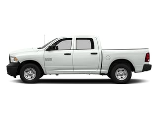 Bright White Clearcoat 2017 Ram Truck 1500 Pictures 1500 Tradesman 4x4 Crew Cab 5'7 Box photos side view