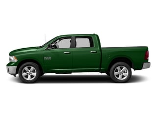 Tree Green 2017 Ram Truck 1500 Pictures 1500 Big Horn 4x2 Crew Cab 6'4 Box photos side view