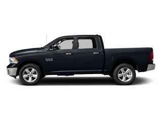 Midnight Blue Pearlcoat 2017 Ram Truck 1500 Pictures 1500 Crew Cab SLT 4WD photos side view