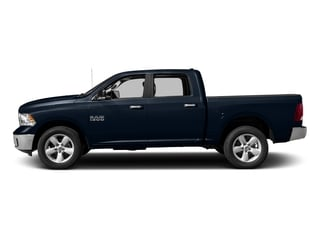 True Blue Pearlcoat 2017 Ram Truck 1500 Pictures 1500 Big Horn 4x2 Crew Cab 6'4 Box photos side view