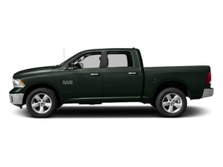 Black Forest Green Pearlcoat 2017 Ram Truck 1500 Pictures 1500 Big Horn 4x2 Crew Cab 6'4 Box photos side view