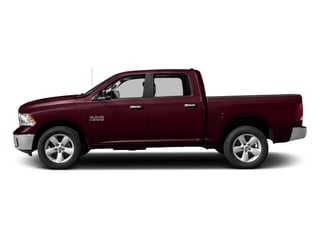 Delmonico Red Pearlcoat 2017 Ram Truck 1500 Pictures 1500 Lone Star Silver 4x2 Crew Cab 5'7 Box photos side view