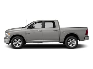 Bright Silver Metallic Clearcoat 2017 Ram Truck 1500 Pictures 1500 Crew Cab SLT 4WD photos side view