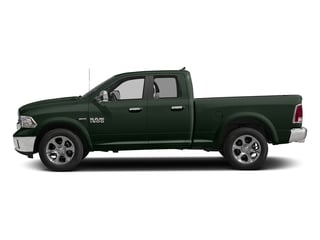 Black Forest Green Pearlcoat 2017 Ram Truck 1500 Pictures 1500 Laramie 4x2 Quad Cab 6'4 Box photos side view