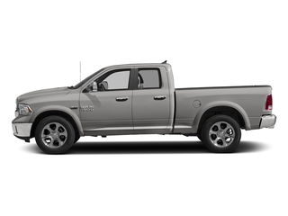 Bright Silver Metallic Clearcoat 2017 Ram Truck 1500 Pictures 1500 Laramie 4x4 Quad Cab 6'4 Box photos side view