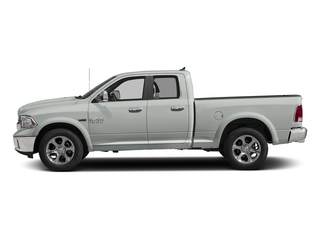 Bright White Clearcoat 2017 Ram Truck 1500 Pictures 1500 Laramie 4x4 Quad Cab 6'4 Box photos side view