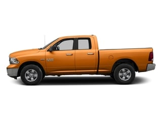 Omaha Orange 2017 Ram Truck 1500 Pictures 1500 Quad Cab SLT 2WD photos side view