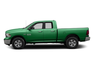 Bright Green 2017 Ram Truck 1500 Pictures 1500 Quad Cab SLT 2WD photos side view